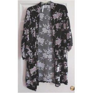 Spiritual Gangster Floral Kimono/Robe